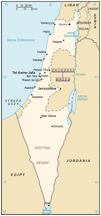 Geografia Izraela